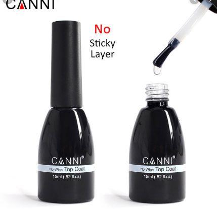 CANNI 15ml UV LED Soak Off Gel Top Coat