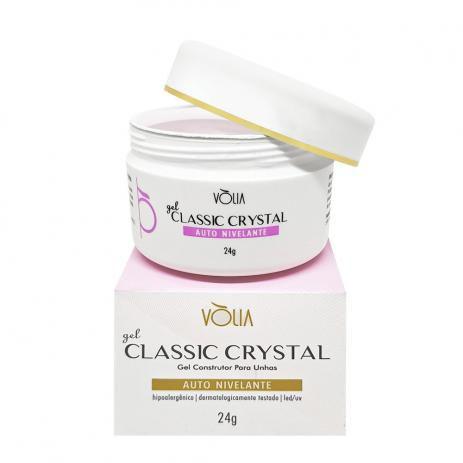 Gel Classic Crystal Vòlia Nail Auto Nivelante Led/uv 24g