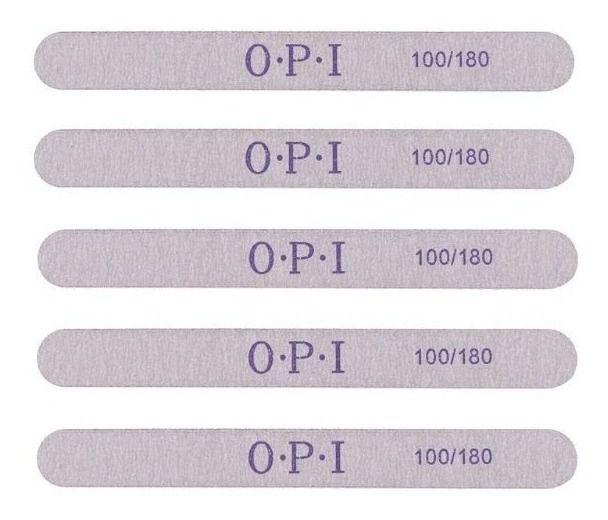 20 Lixas Reta O.P.I 100/180