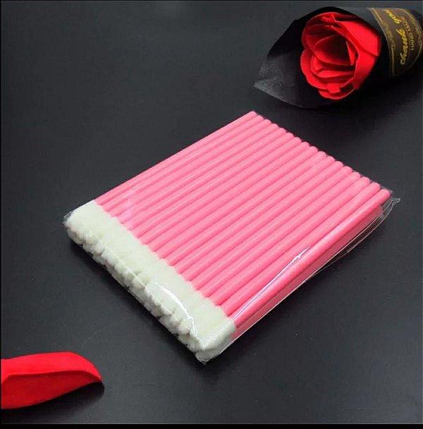 Pincel/aplicador Descartável De Batom Gloss ou micropigmentação 50Un