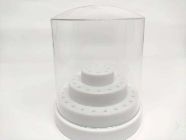 Porta Brocas Suporte Cerâmica tamanho G Branco