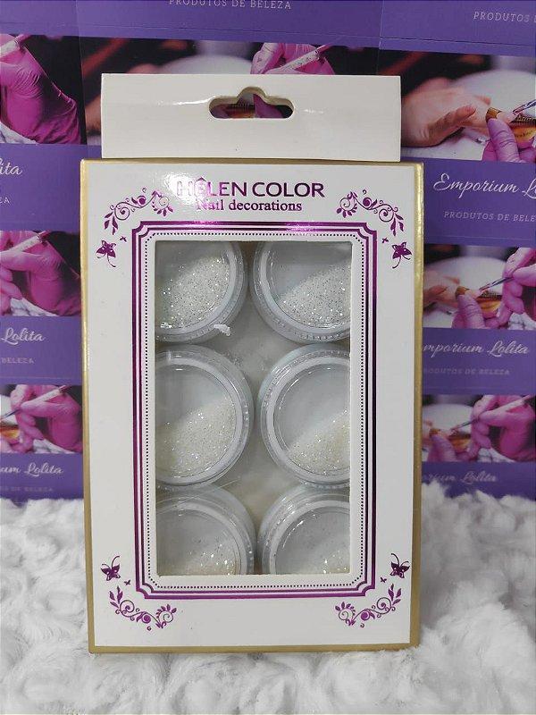 Pó De Açucar Furtacor - Kit com 6 unidades - Helen Color