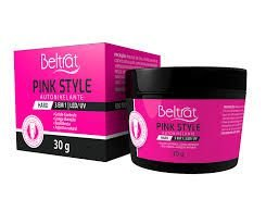 Gel Hard Pink Style Autonivelante- Hipoalergênico. 24g.