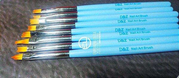 Kit pinçel Azul D&Z para desenho