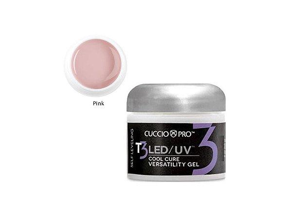 Gel Cuccio Pro T3 Led Uv Self Leveling Pink 28g