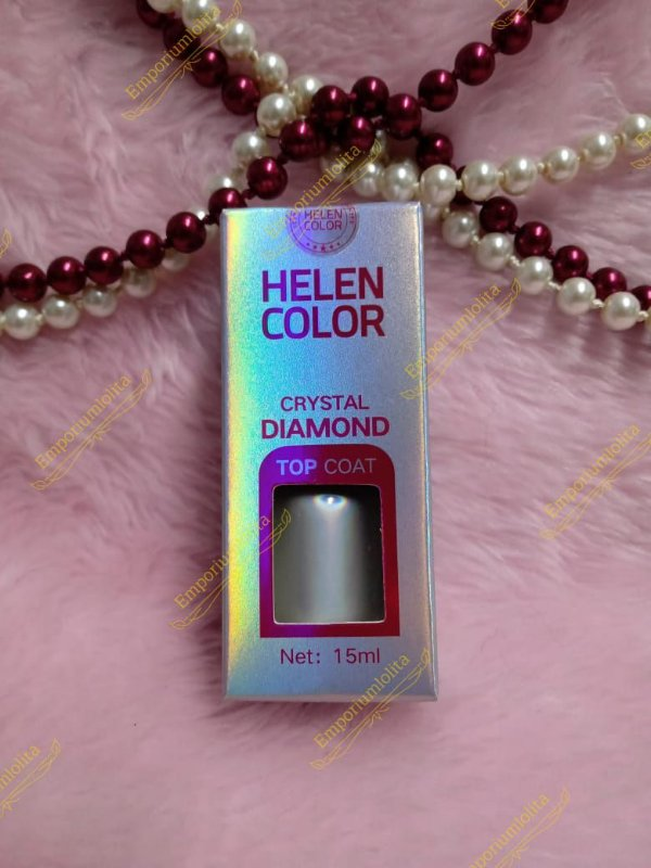 Helen Color - Crystal Diamond - Top Coat - 15ml