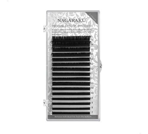 Cílios Nagaraku Mink Curvatura D 8mm 0.15D