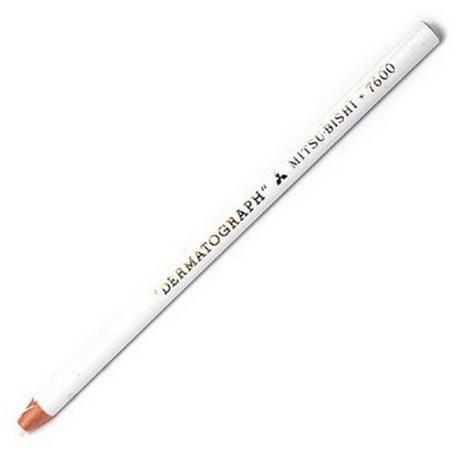 Lápis Dermatográfico Mitsubishi - Branco