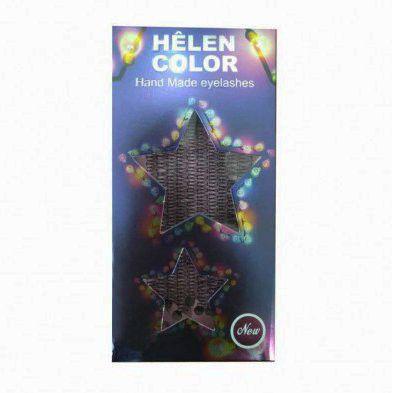 Cílios Tufinho Helen Color Alongamento de Cílios Extensão
