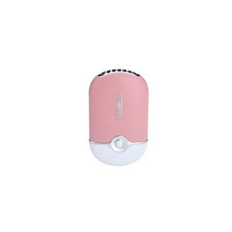 Mini Ventilador Usb P/ Alongamento De Cílios Secar Cola Baby Pink