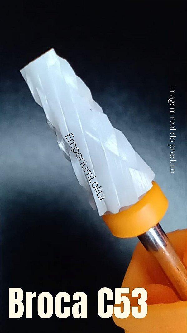 Broca de Cerâmica Fresa de Unhas Manicure Taper Radus (XXC) C53