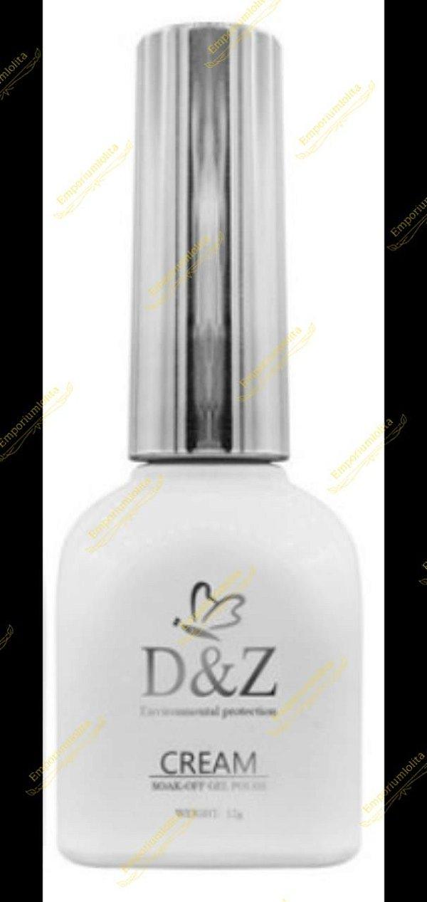 Esmalte Para Francesinha Soak Off Gel Cream D&Z