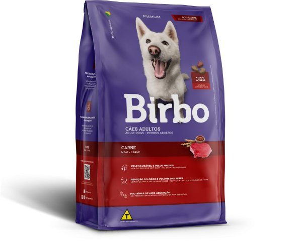 Birbo Premium Cães Adultos - Carne