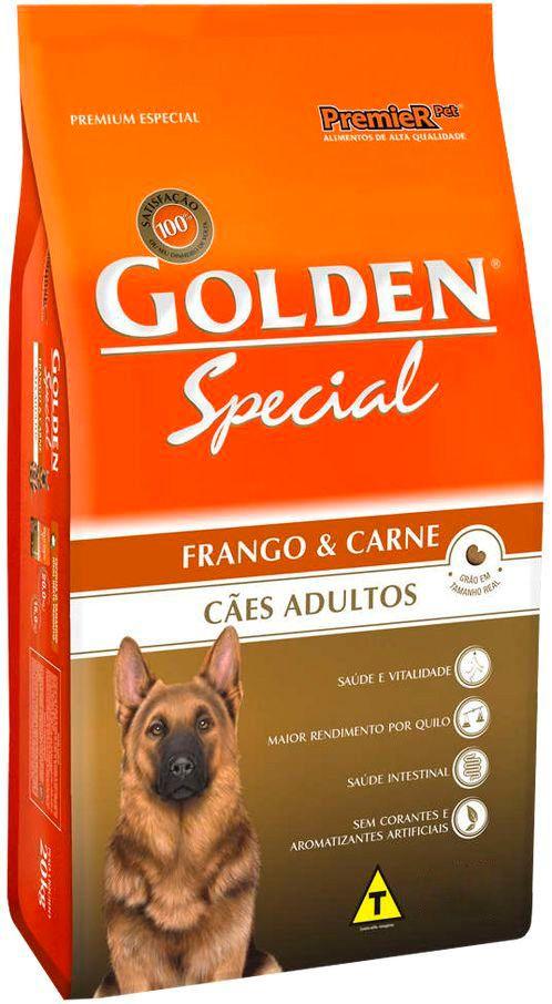 Golden Special Cães Adultos Frango e Carne