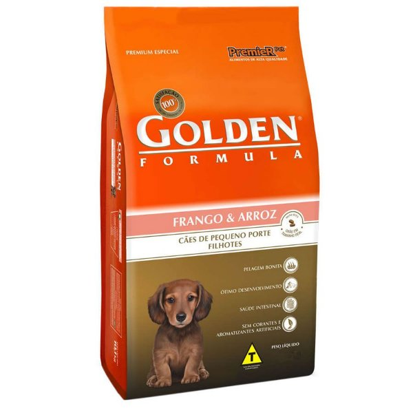 Golden Formula Filhotes Frango & Arroz Mini Bits