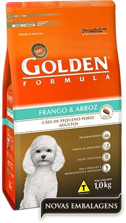 Golden Formula Adultos Frango & Arroz Mini Bits