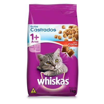 Whiskas Gatos Castrados - Carne