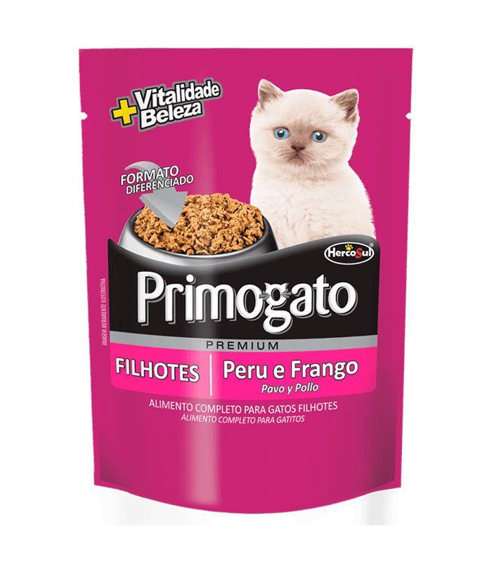 Sachê Primogato Filhotes - Peru e Frango