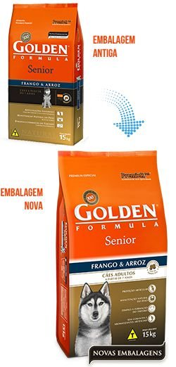 Golden Senior Frango e Arroz