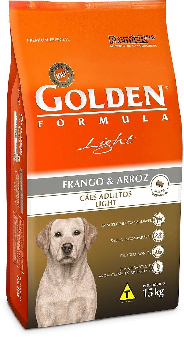 Golden Fórmula Cães Adultos Light