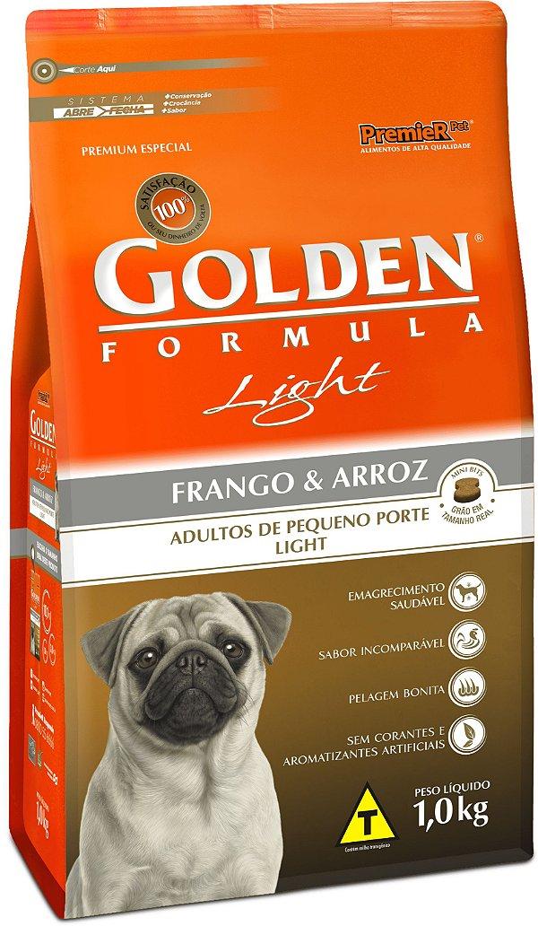 Golden Fórmula Cães Adultos Light Mini Bits