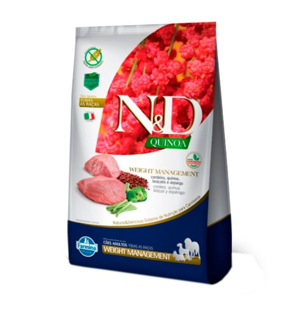 ND Quinoa Canine Weight Management - Cordeiro