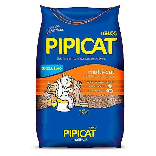 Pipicat - Areia Higiênica Multicat