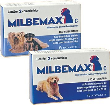 Vermífugo Milbemax Cães