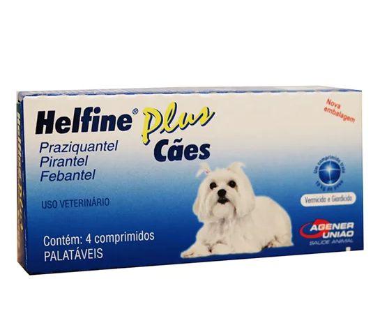 Vermífugo Helfine Plus Cães