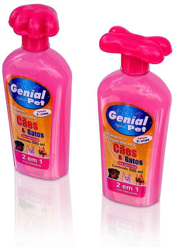Shampoo Genial 2 em 1 Cães e Gatos