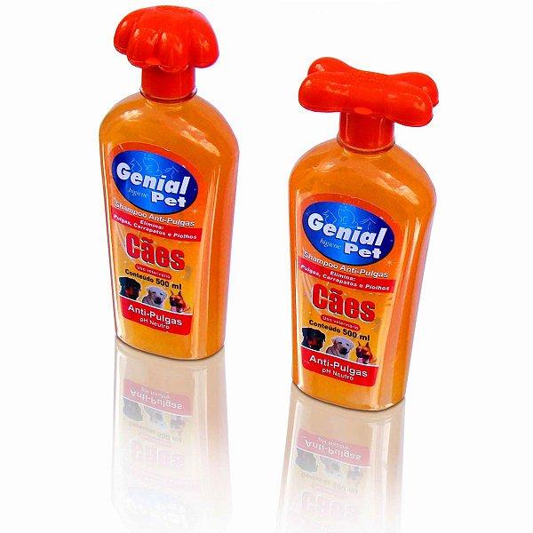 Shampoo Genial Anti-Pulgas Cães