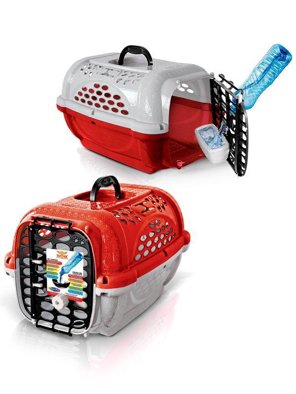 Caixa Transporte Panther N4 - PlastPet