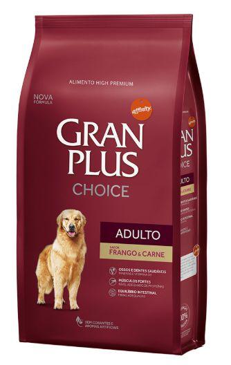 Gran Plus High Premium Choice Cães - Frango e Carne