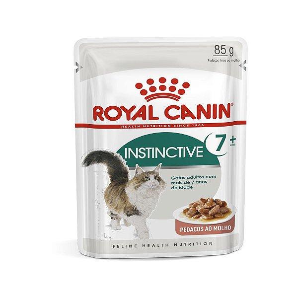 Royal Canin Sachê Instinctive 7+ - Gatos Adultos