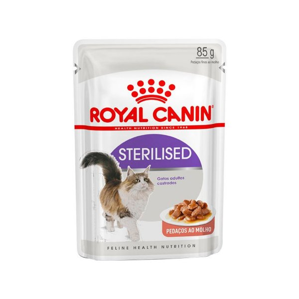 Royal Canin Sachê Sterilised - Gatos Adultos