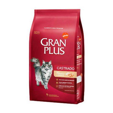 Gran Plus Gatos Castrados - Frango e Arroz