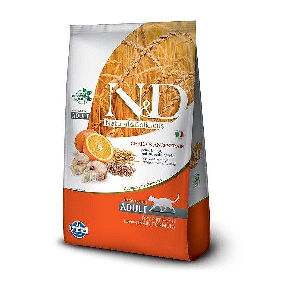 ND Low Grain Feline Adulto - Peixe