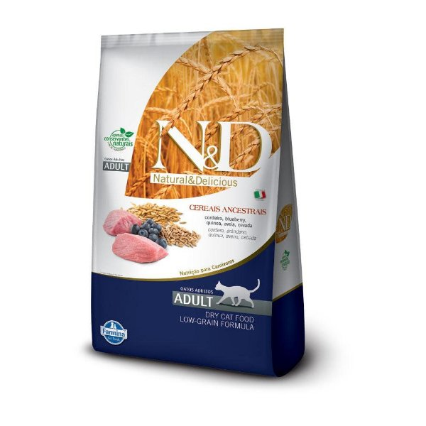 ND Low Grain Feline Adulto - Cordeiro