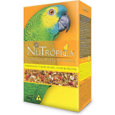 Ração Nutrópica à Base de Mel e Ovos para Papagaios