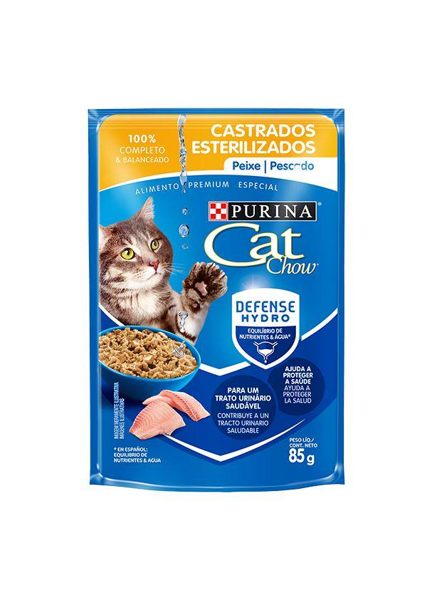 Sache Purina Cat Chow Castrados - 85g