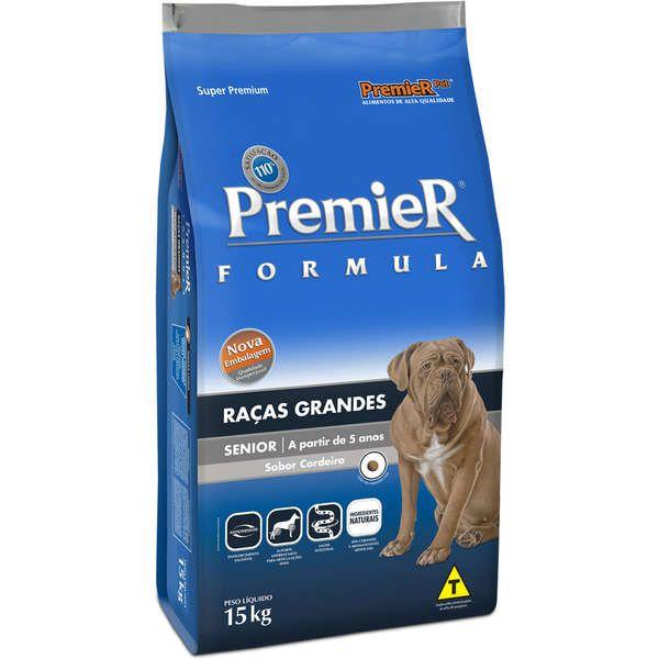 Premier Formula Cães Sênior Raças Grandes - Premier Pet