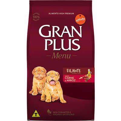 Gran Plus Menu Carne e Arroz para Cães Filhotes - Affinity