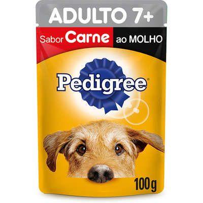 Sachê Carne ao Molho para Cães Sênior 7 + Anos - Pedigree