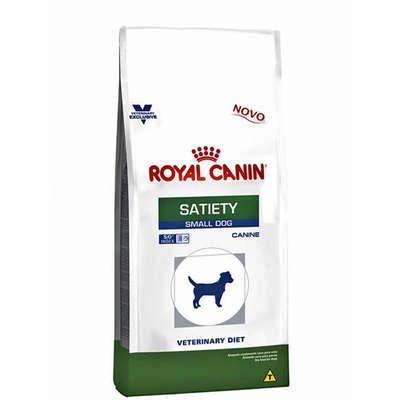 Royal Canin Canine Veterinary Diet Satiety para Cães de Raças Pequenas - CONSULTE A VALIDADE