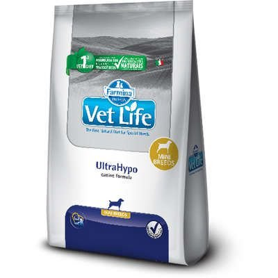 Vet Life Natural UltraHypo para Cães Mini - Farmina