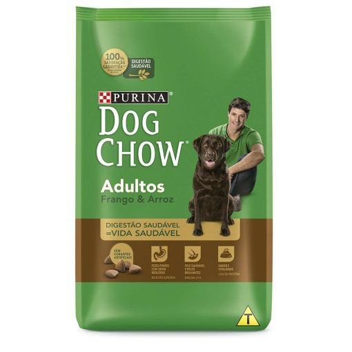 Dog Chow Adultos Frango e Arroz - Purina