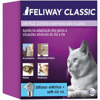 Feliway Classic Difusor Elétrico + Refil - Ceva