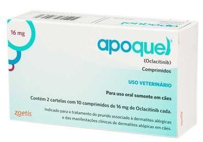 Apoquel Dermatológico para Cães CONSULTE VALIDADE