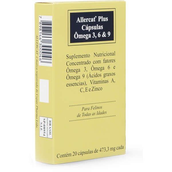 Allercat Plus Cápsulas - CONSULTE VALIDADE