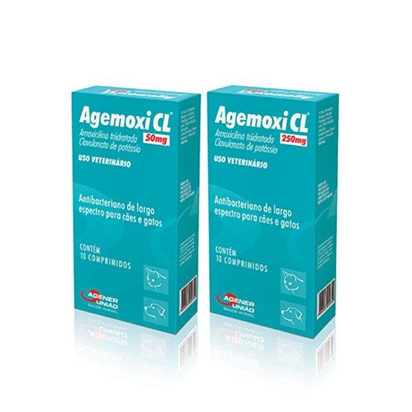 Agemoxi CL - Amoxicilina - 10 Comprimidos